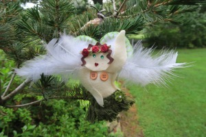 My hula angel is the result of my passion for all things Hawaiian!